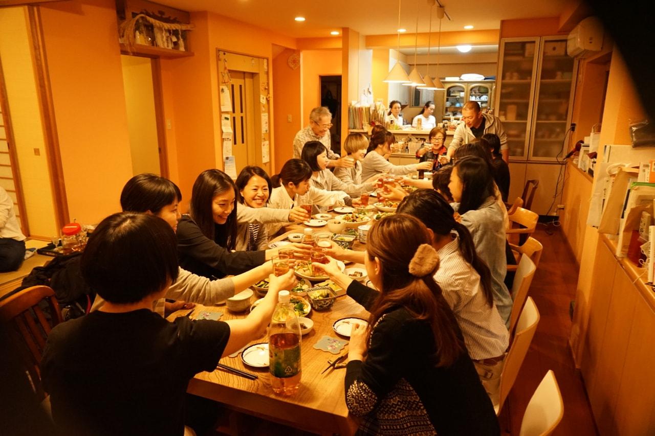 辻洋装店 秋刀魚パーティー