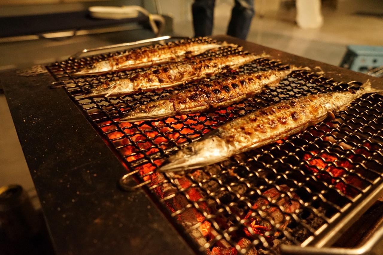 縫製工場 秋刀魚